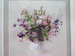 10% Off Riolis Counted Cross-Stitch Kit - Flowers in a Vase