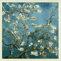 11ct Stamped Cross Stitch kit Van Gogh Almond Blossom Needle