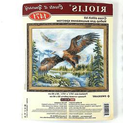 RIOLIS  1471  Free Flight Eagle Counted Cross Stitch Kit new