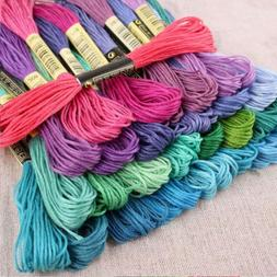 150 Floss Colors Embroidery Thread Skeins Sewing Kit Cross S