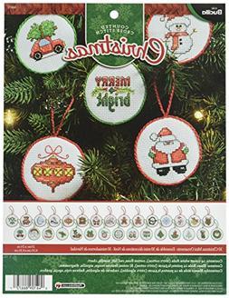 Bucilla 30 Mini Ornaments Counted Cross-Stitch Kit