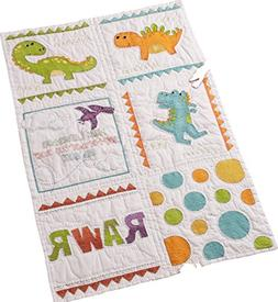 Bucilla 47723 Dino Baby Quilt Blocks