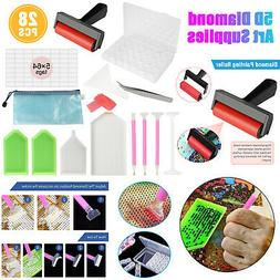 5D DIY Diamond Painting Accessories Cross Stitch Tool Kits A