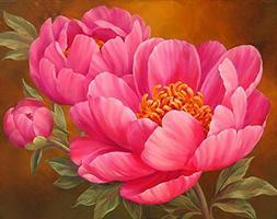 CYCTECH 5D Flower Diamond Painting, Hot Sale Cross Stitch Pa
