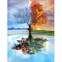 5D Full Drill Diamond Painting Embroidery Cross Stitch Kits