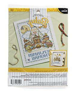 Bucilla 47783 Teepee Bears Birth Record