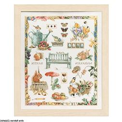 Lanarte - M B Collage - Marjolein Bastin Cross-stitch kit
