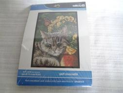 Afternoon Nap  - Small Counted Cross Stitch kit from Bucilla