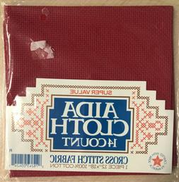 Super Value AIDA Cloth Counted Cross Stitch Fabric 14 Count