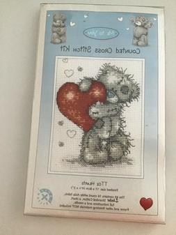 Anchor cross stitch kit TT02 Hearts