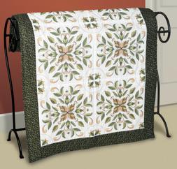 Janlynn 21-1400 Antique Foliage Quilt Blocks Stamped Cross S