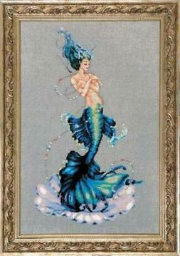 Aphrodite Mermaid by Mirabilia MD-144 cross stitch pattern