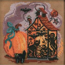 Mill Hill Autumn Series Counted Cross Stitch Kit Haunted Lan