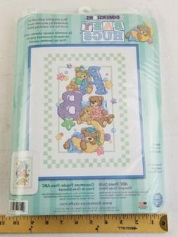 Dimensions BABY ABC BEARS QUILT Stamped Cross Stitch Kit bab