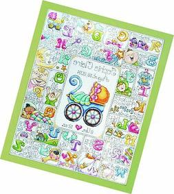 Baby ABC Counted Cross Stitch Kit-16X20 14 Count
