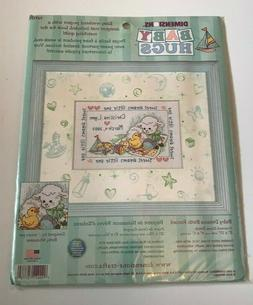 Dimensions Baby Dreams Birth Record Counted Cross Stitch Kit