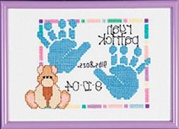 Bulk Buy: Janlynn Special Moments Baby Handprints Mini Count