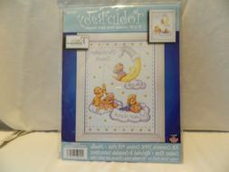 C-20 TOBIN HOME CRAFTS COUNTED CROSS STITCH BABY SAMPLER '