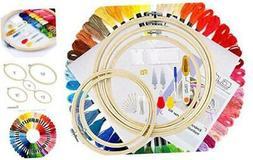 Caydo Full Range of Embroidery Starter Kit Including Instruc