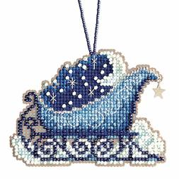 Celestial Sleigh Cross Stitch Kit Mill Hill 2017 Sleigh Ride