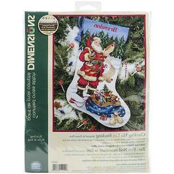 Dimensions Checking His List Stocking Counted Cross Stitch K