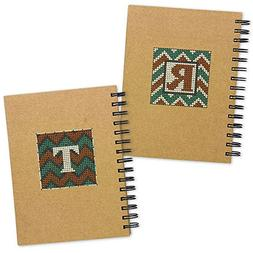 """6""""X8"""" - Chevron Large Journal Punched For Cross Stitch"""