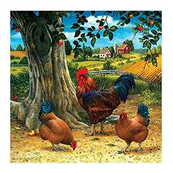 AFfeco Chicken 5D DIY Diamond Painting Embroidery DIY Cross