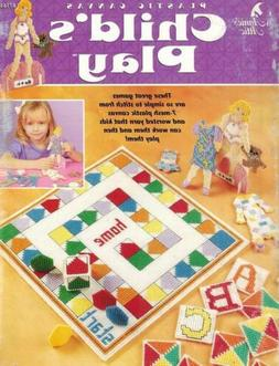 Child's Play Plastic Canvas PATTERN Paper Dress-Up Doll ABC