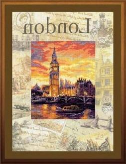 RIOLIS Cities of the World London Counted Cross-Stitch Kit