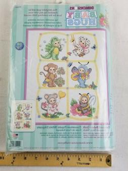Dimensions COSTUMED BABIES QUILT Stamped Cross Stitch Kit ba
