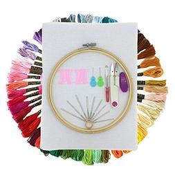 Cotton Embroidery Thread, Wartoon Cotton Embroidery Floss Se