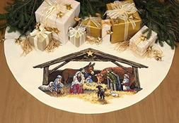 Dimensions 45 Inch Counted Cross Stitch - Nativity Scene Tre