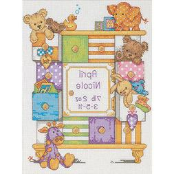 Dimensions Needlecrafts Counted Cross Stitch, Baby Drawers B