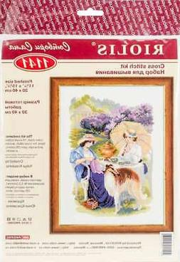"""RIOLIS Counted Cross Stitch Kit 11.75""""X15.75"""" The Russian Co"""
