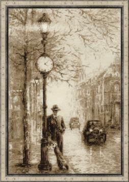 """Counted Cross Stitch Kit RIOLIS 1611 - """"Old Photo. Waiting"""""""