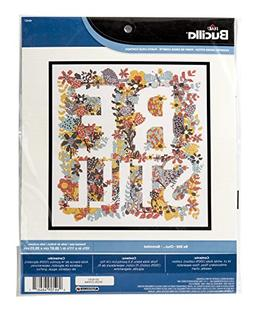 Bucilla Counted Cross Stitch Kit, 10.5 by 11.5-Inch, 46467 B