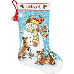 """Dimensions Counted Cross Stitch Kit 16"""" Long-Winter Friends"""