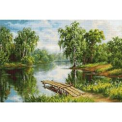 Counted Cross Stitch Kit Luca-S B548 - A Cool Place - NEW
