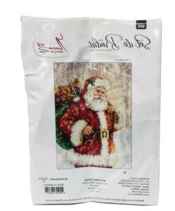 """Counted Cross Stitch Kit LUCA-S B575 - """"Santa Claus"""" Complet"""