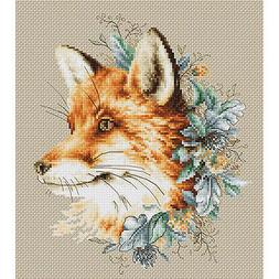 Counted Cross Stitch Kit Luca-S The Fox #B2292