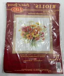 Counted Cross Stitch Kit RIOLIS - WATERCOLOR GERBERA  Flower