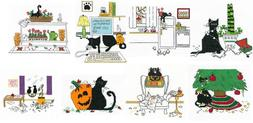 Imaginating Counted Cross Stitch Patterns BY KATS BY KELLY C