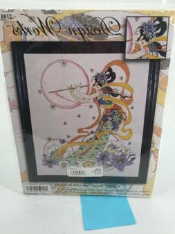 "Design Works Counted Cross Stitch Picture Kit ""Flute Player"""