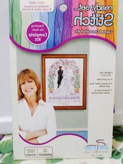 Janlynn Counted Cross Stitch Wedding Assortment To Love, Hon