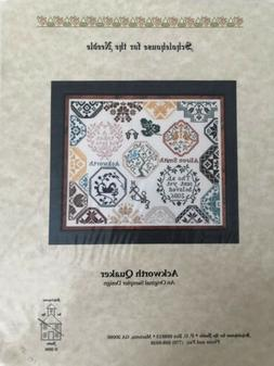 """Cross Stitch """"Ackworth Quaker"""" Chart by Scholehouse for"""