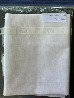 Cross Stitch Aida Cloth 18 Count White