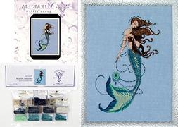 Mirabilia Cross Stitch Chart with Embellishment Pack ~ RENAI