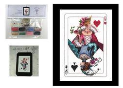 Cross Stitch Chart / Pattern ~ Mirabilia Royal Games I Card