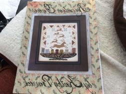 Kathy Barrick Cross Stitch Chart. Reindeer Games