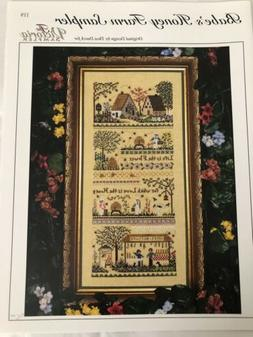 Cross Stitch Chart—Babe's Honey Farm Sampler by Victoria